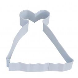 Ausstechform Kleid
