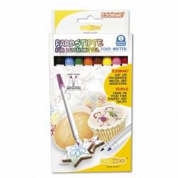 Lebensmittel Farbstifte Set  Essbar 6 Stück