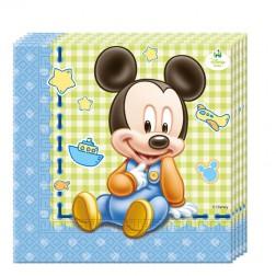 Baby Mickey Boy Servietten 20 Stück