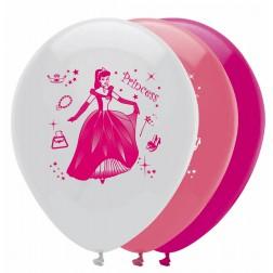 Luftballone Prinzessin 6 Stück