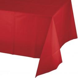 Tischdecke rot 137 x 274cm