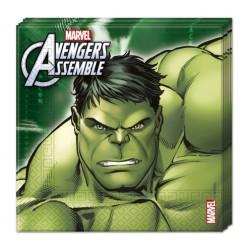 Avengers Multi Heroes Serveitten 20 Stück