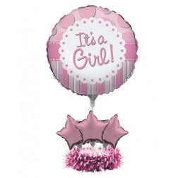 Air Filled Ballon Kit It\'s a Girl