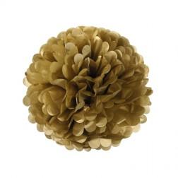Pom Pom Gold 35cm