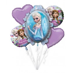 Frozen Folienballon Set 5 teilig