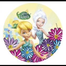Tortenaufleger Tinker Bell mit Periwinkle Grün 21cm