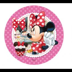 Tortenaufleger Minnie Mouse 21cm