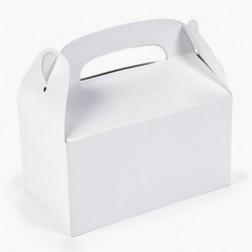 Party Box mit Tragegriff - weiß