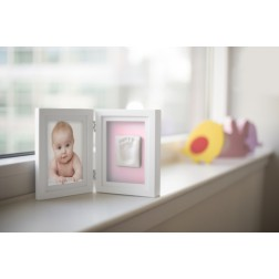 Babyprints Desk Frame Bildrahmen Rosa