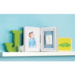 Babyprints Desk Frame Bildrahmen Blau
