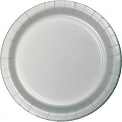 Pappteller Silber 24 Stück