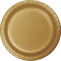 Pappteller Gold 24 Stück
