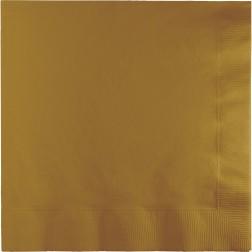 Servietten Gold 50 Stück