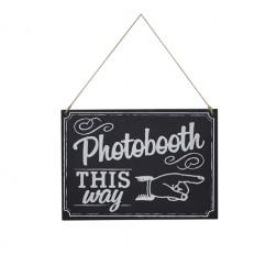 Photo Booths Schild