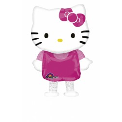 Hello Kitty Air Walkers klein Folienballon 59cm