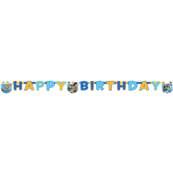 Toy Story Banner Happy Birthday 2m