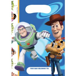 Toy Story Plastik Tüten blau 6 Stück