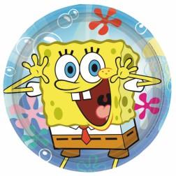 SpongeBob Pappteller 8 Stück