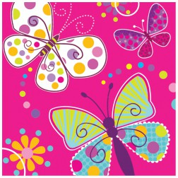 Servietten Schmetterling 16 Stück