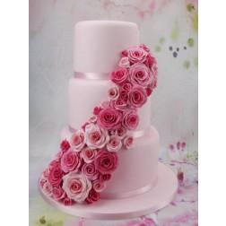 FMM Ausstecher Rose für Fondant und Blütenpaste