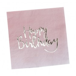 Servietten Pick and Mix Happy Birthday 20 Stück