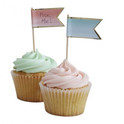Cupcake Sticks Pick and Mix 10 Toppers