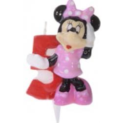Zahlenkerze Minnie 5