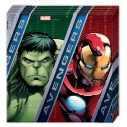 Avengers Power Servietten 20 Stück
