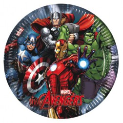 Avengers Power Pappteller 23cm