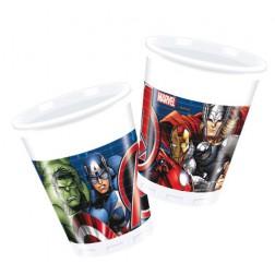 Avengers Power Plastikbecher 8 Stück