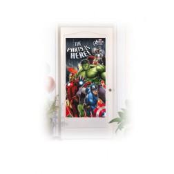 Avengers Multi Heroes Tür Deko