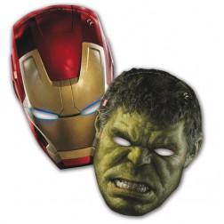 Avengers Masken 6 Stück