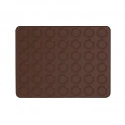 Macarons Backmatte für 42 Stück 38 x30cm