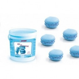 Macaron Backmischung in blau 500g