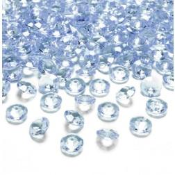 Konfetti Diamond pastellblau
