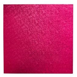 Tortenplatte Quadratisch Pink 40 x 40cm