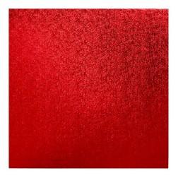 Tortenplatte Quadratisch Rot 35 x 35cm