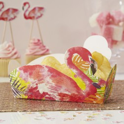 Snack Boxen Flamingo rosa 5 Stück