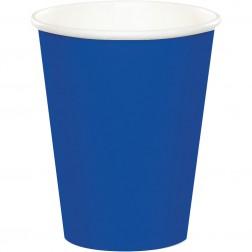 Pappbecher Blau 8 Stück