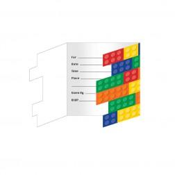 Einladungskarten Block 8 Stück