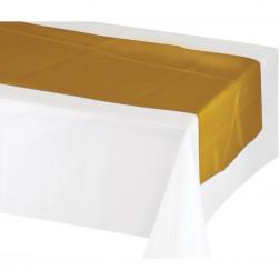 Tischläufer Gold 213cm