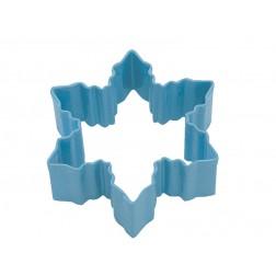 Ausstechform Schneeflocke Blau 7cm