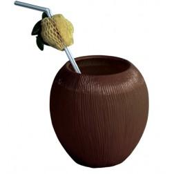 Kokos Kunststoff Becher