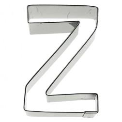 Ausstechform Edelstahl Buchstabe Z 6cm