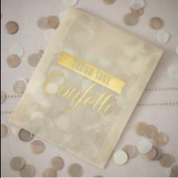 Tissue Konfetti Gold 14g