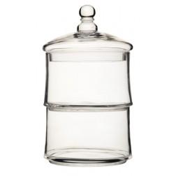 Glasdose 2 Etagen