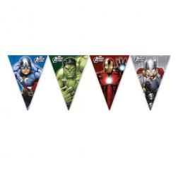 Avengers Multi Heroes Flaggen Banner 2,3m