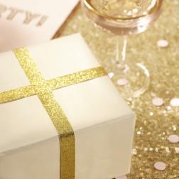 Geschenkband Glitter Gold Pastel Perfection 3m