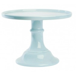 Tortenplatte Hellblau Keramik 25cm
