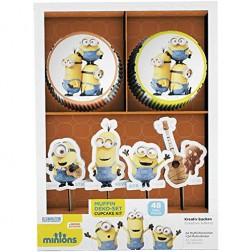 Muffinset Minions 48 Stück